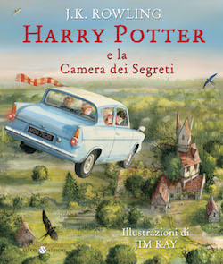 J.K. Rowling Harry Potter e la camera dei segreti (illustrato)