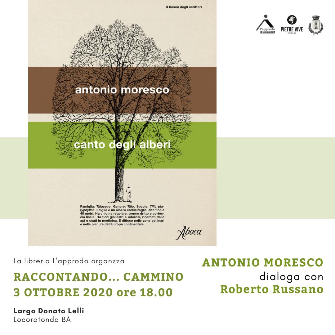 A. Moresco, Canto degli alberi, Aboca Edizioni, 2020
